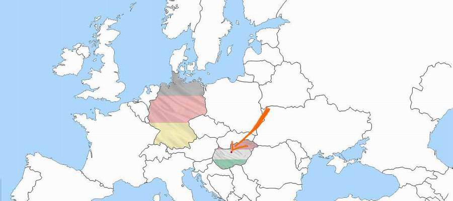 Wo liegt Budapest
